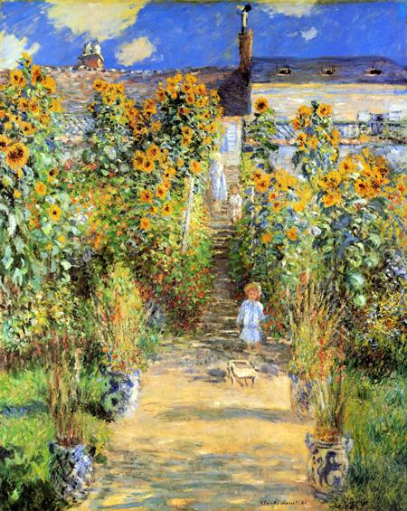 ヴェトゥイユのモネの庭
