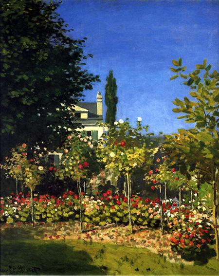 サン・タドレスの花咲く庭