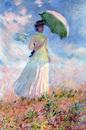日傘を差す女2