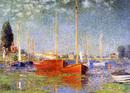 赤いボート・アルジャントゥイユ