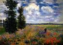 アルジャントゥイユの野原