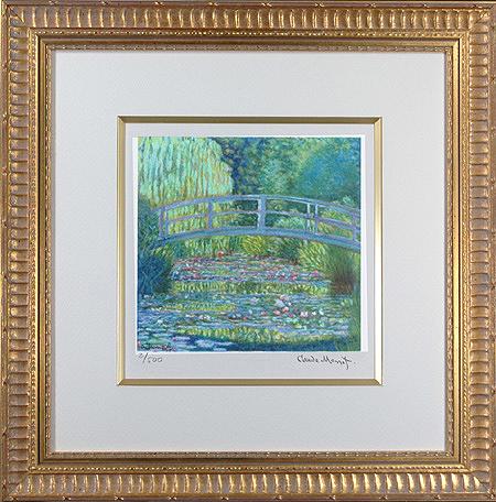 睡蓮の池・緑のハーモニー(小)