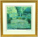 睡蓮の池・緑のハーモニー(大)