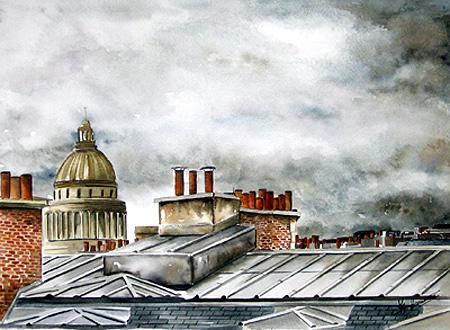 パリ・煙突