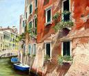 ヴェニスの小さな運河