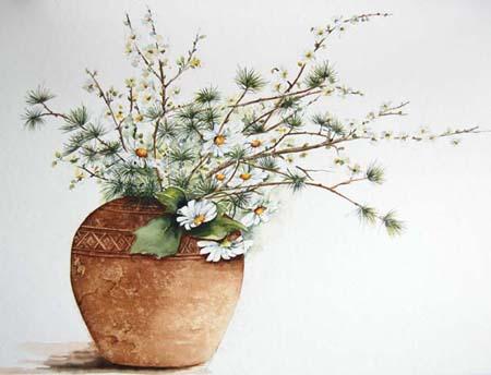 花のコンポジション2
