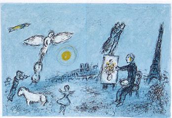 画家とその二重自画像