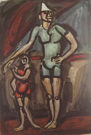 サーカス・道化師と子ども