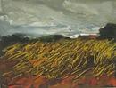 ペルシェの小麦畑