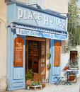 マルセイユのオリーブオイル屋