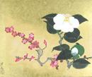 白椿と紅梅