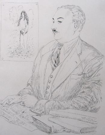 魅せられたる河・ベルフォス氏の肖像